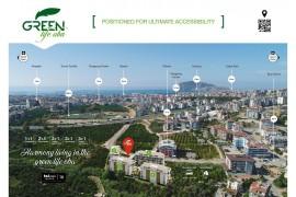Green Life Oba Site Projesi 1+1, 2+1, 3+1 Daireler 65.000 Eurodan Başlayan Fiyatlarla